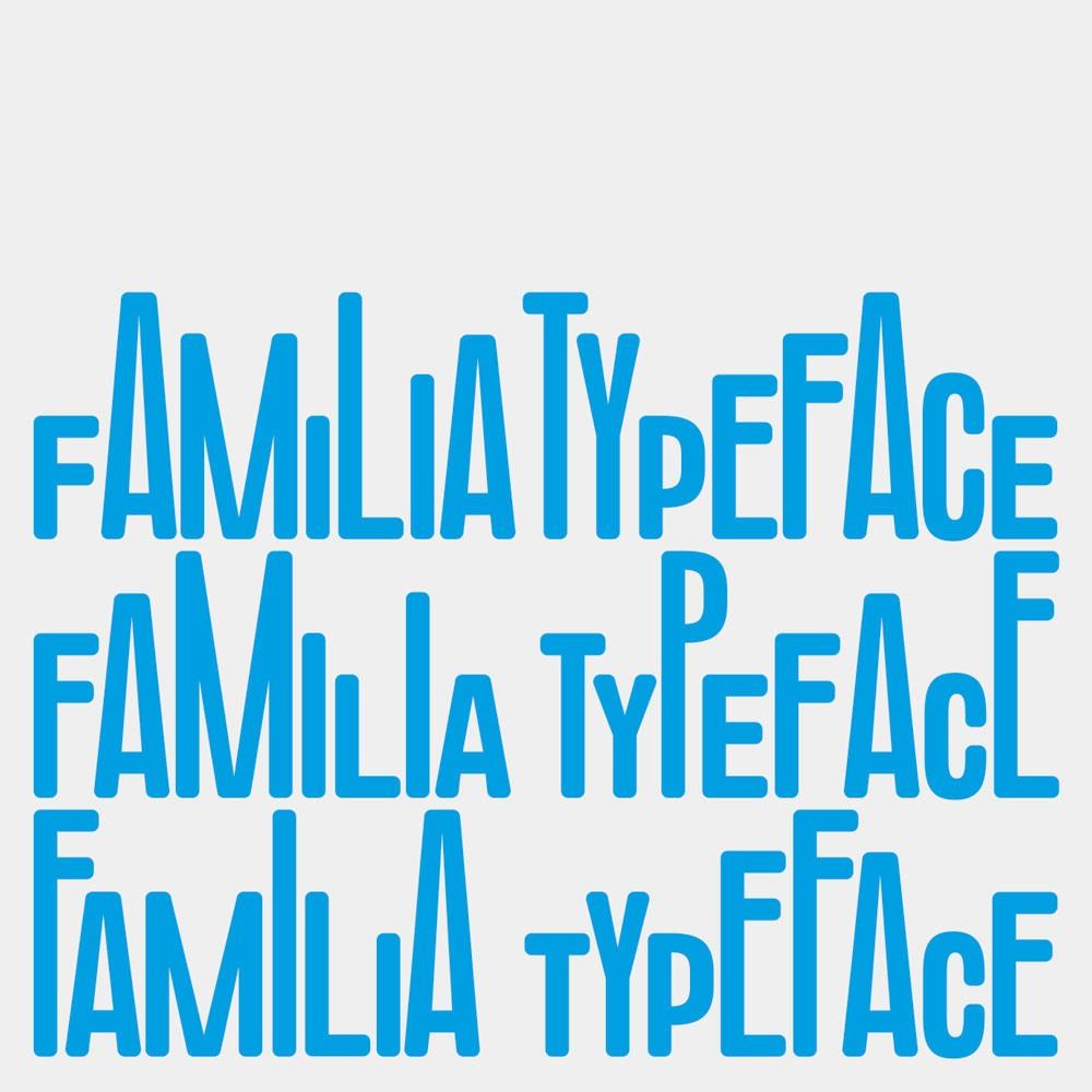 A family friendly typeface for CaixaForum